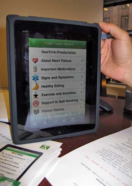 Mobile Health Communications on the iPad®